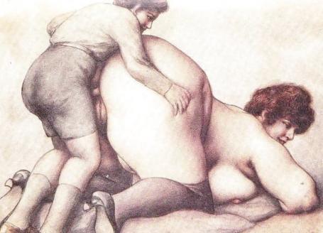 رسومات جنسية ساخنة